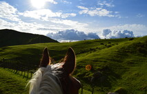 stunning views on a horses back